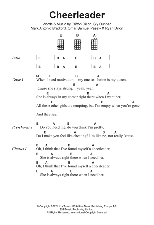 Ukulele chords for jingle bells