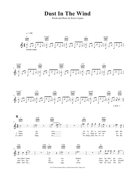 Attractive Blowin In The Wind Chords Gift - Chord Sites - creation ...