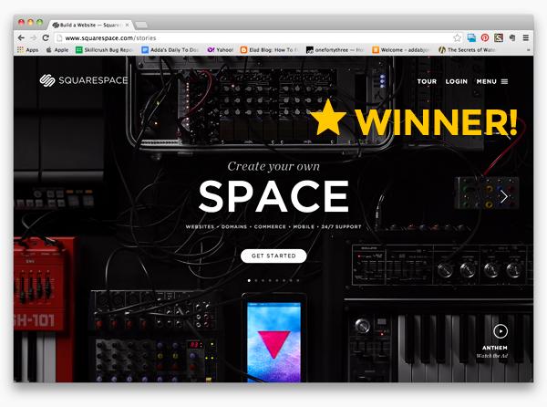 squarespacewinner