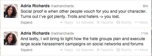 adria on twitter