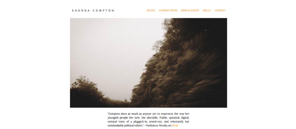 Shanna Compton online portfolio