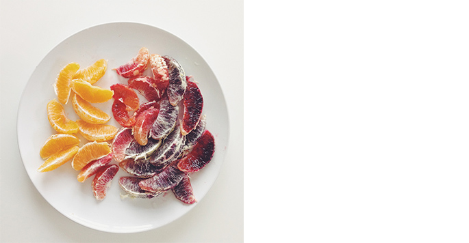 Lily Diamond, Blood Orange & Fennel Salad with Oil-Cured Olives