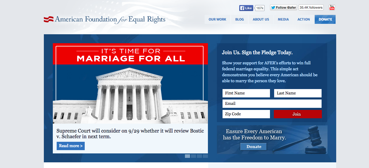 The American Foundation for Equal Rights