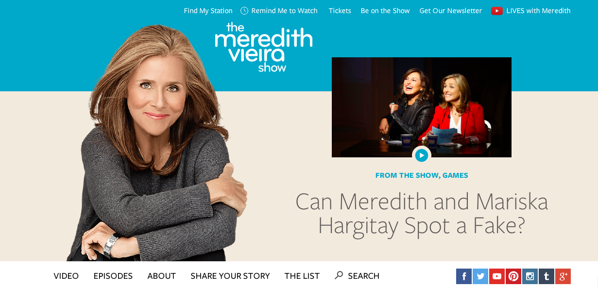 Meredith Viera Show