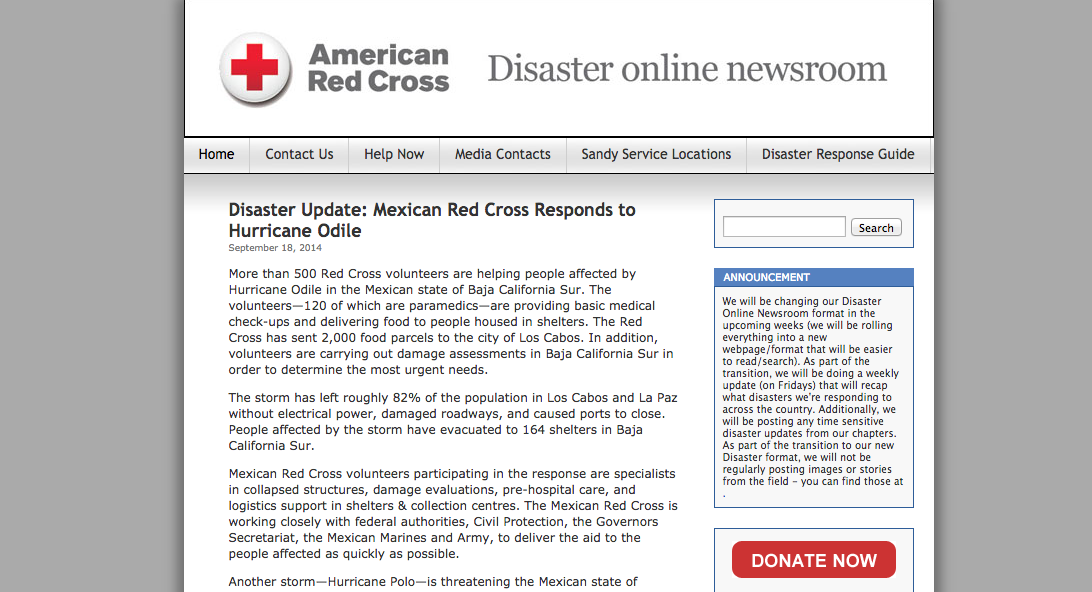American Red Cross News