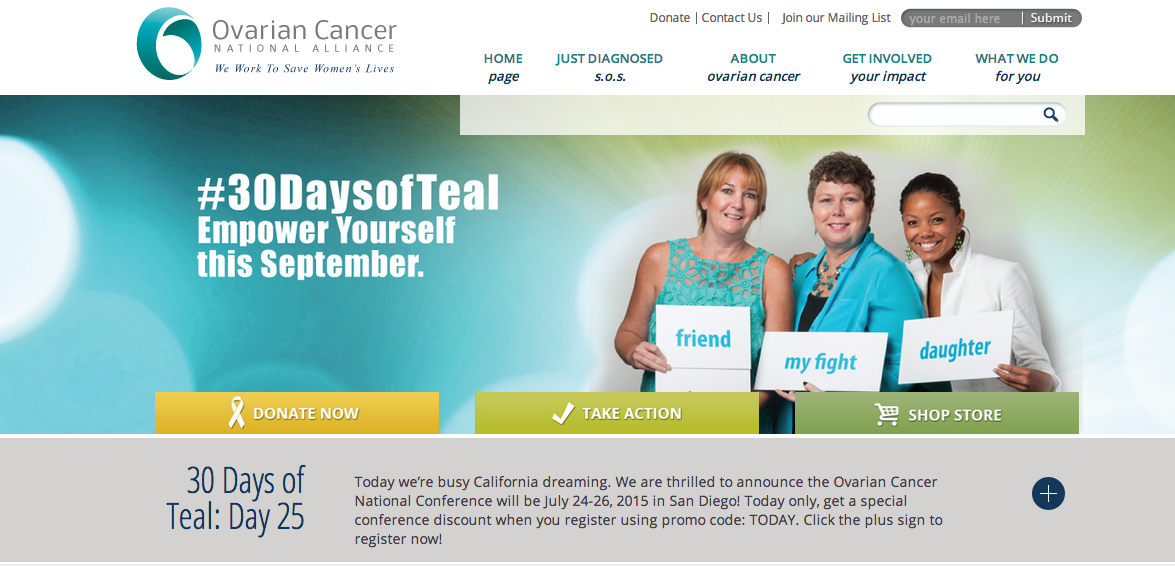 Ovarian Cancer National Alliance