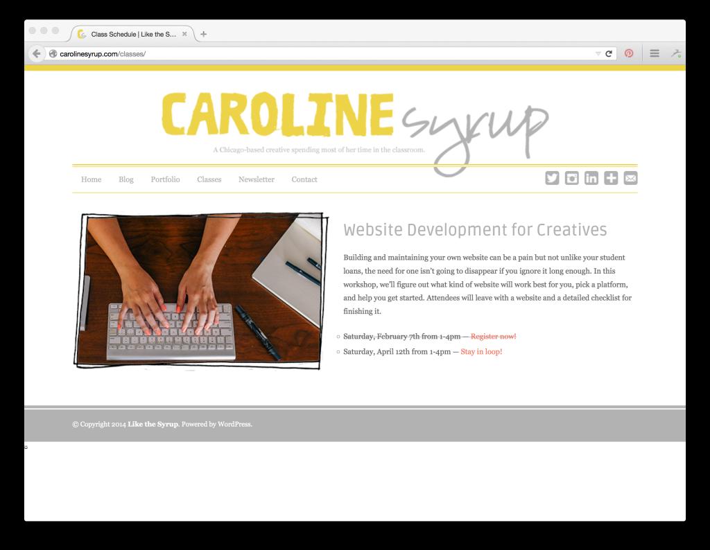 caroline-syrup