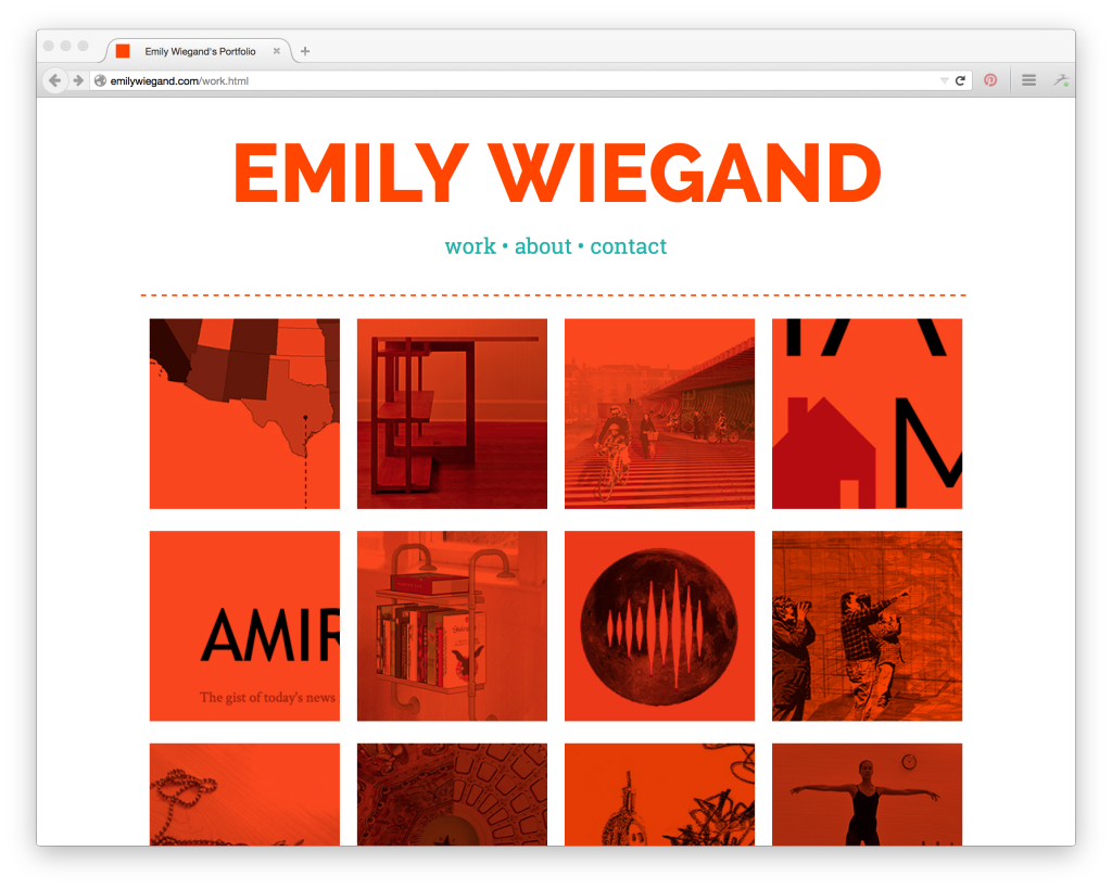 how to build an impressive portfolio when you re new to tech emily wiegand