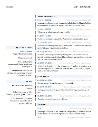 resume template 2017 free download word google docs