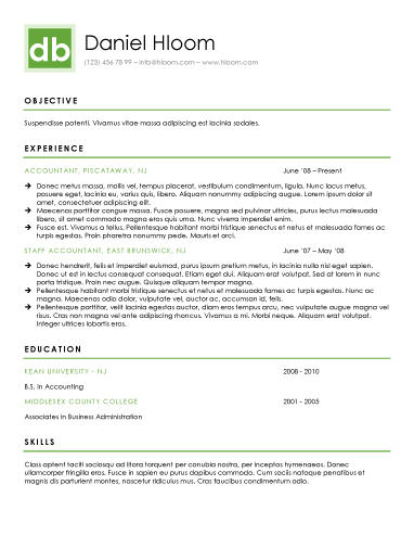 free resume template - Fancy Resume Templates
