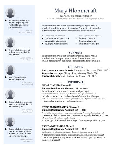 Modern Design Resume Templates You Can Use Today