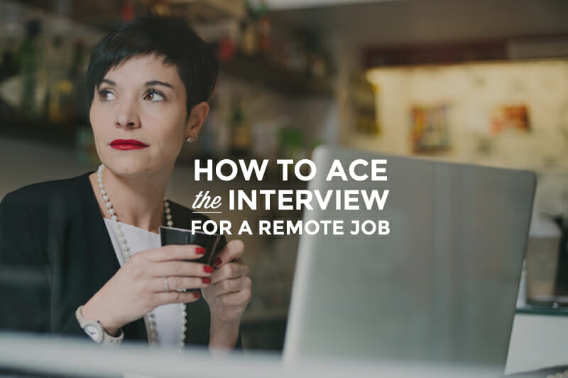 Remote Interview Worksheet