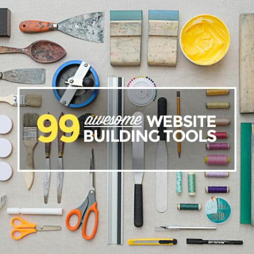 99 Freebies To Help You Build Awesome Websites