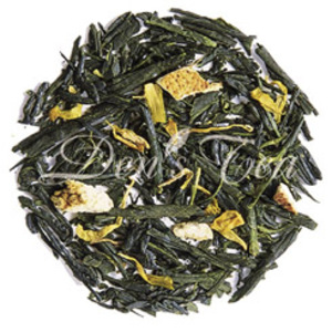 Orange Sencha from Den's Tea