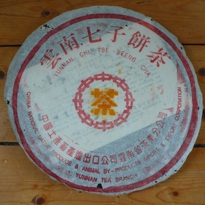 1996s Menghai 7532-Orange-in-orange from The Essence of Tea