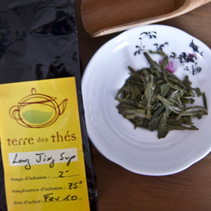 Long Jing Superieur from Terre des Thes