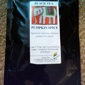pumpkin spice from Subtle Tea