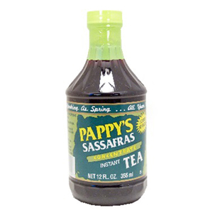 Pappy's Sassafrass tea concentrate from H & K products