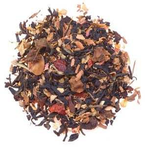 Apple Caramel Spice Black Tea from Four O&#x27;Clock Organic