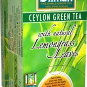 Ceylon Green Tea with Lemongrass from Dilmah