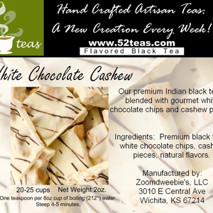 White Chocolate Cashew Black Tea from 52teas