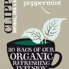 organic peppermint from Clipper