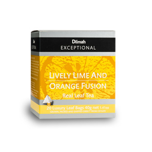 Lively Lime and Orange Fusion from Dilmah