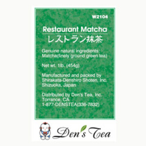 Restaurant Matcha from Den's Tea