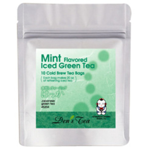 Mint Iced Green Tea Bags from Den's Tea