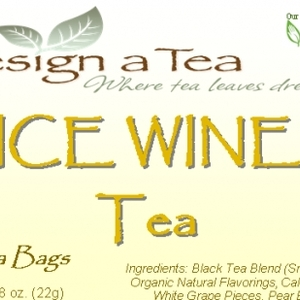 Ice Wine Tea from Design a Tea
