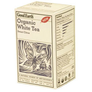 Organic White Tea Sweet Citrus from Good Earth Teas
