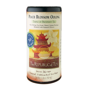 Peach Blossom Oolong from The Republic of Tea