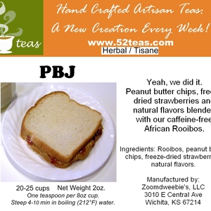 PBJ Rooibos from 52teas