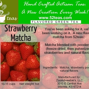 Strawberry Matcha from 52teas