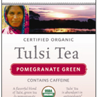 Tulsi Pomegranate Green Tea from Organic India