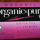 Green Tea with Jasmine from organic & pure