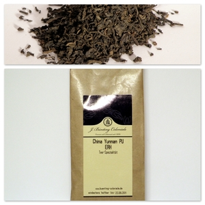 China Yunnan PU ERH from J. Bünting Coloniale