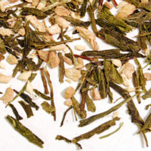 Ginger Sencha from Shanti Tea