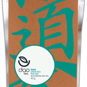 Sejak Green  (Tea Master Kim Jong Yeol) from Dao Tea