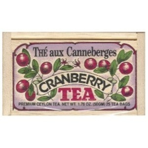 Cranberry Tea from Metropolitan Tea Company
