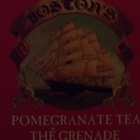 Pomegranate Tea from The Boston Tea Company