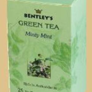Minty Mint Green Tea from Bentley's