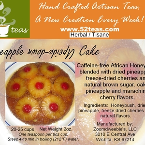 Pineapple Upside-Down Cake Honeybush from 52teas