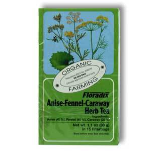 Fennel Herb Tea / Anis-Fenchel-Kümmeltee from Floradix