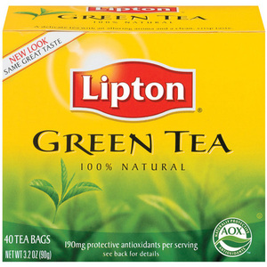 Green Tea from Lipton