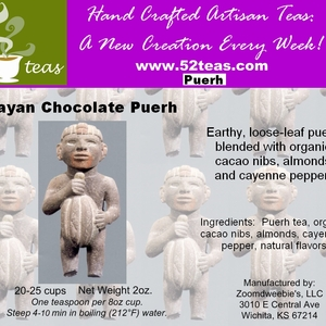 Mayan Chocolate Puerh from 52teas
