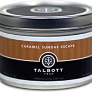 Caramel Sundae Escape from Talbott Teas