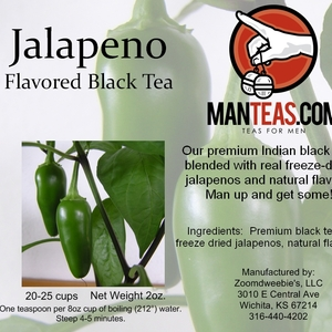 Jalapeno Tea! from Man Teas