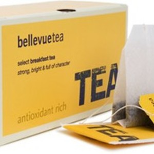 Select Breakfast Tea from Bellevue tea