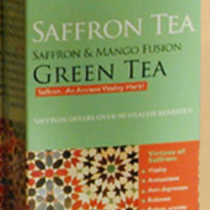 Saffron Fusion Tea from Taja Tea